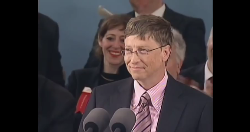 Bill Gates Harvard Commencement Address 2007