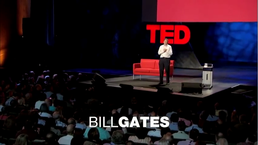 Bill Gates- Mosquitos, malaria and education