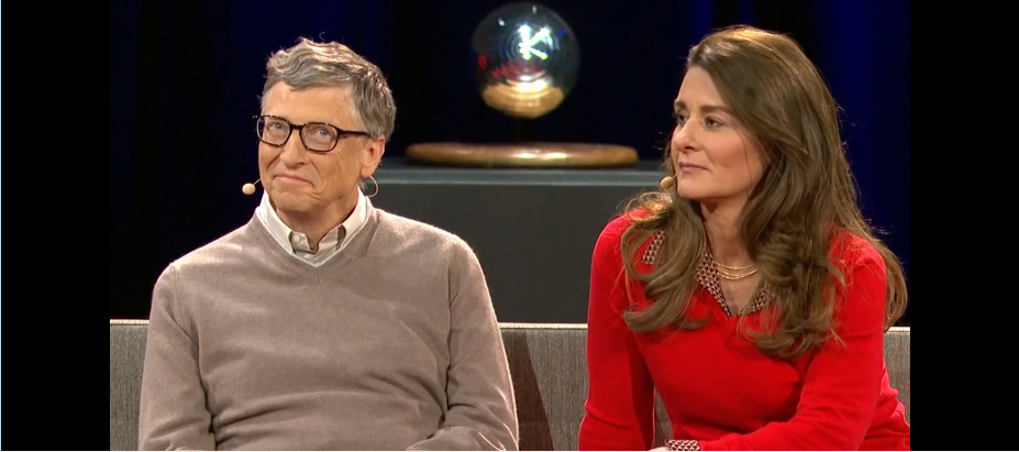 Bill and Melinda Gates's interview