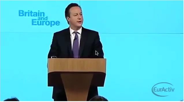 David Cameron Full Speech- Britain and Europe