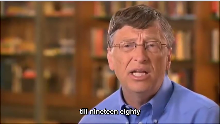 Exclusive Interview Bill Gates
