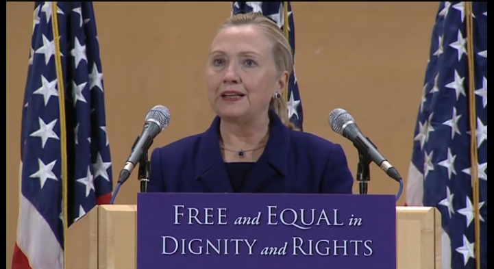 Hillary Clinton's Historic LGBT Speech
