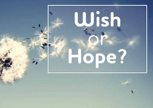 Cách phân biệt Hope và Wish trong tiếng Anh