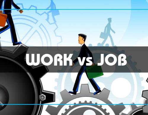 Cách phân biệt Job và Work