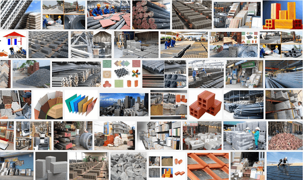 Từ vựng tiếng Anh về vật liệu xây dựng