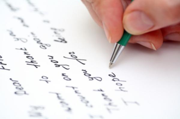 Viết thư bằng tiếng Anh cho cô giáo