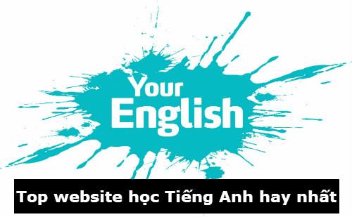 Những website học tiếng Anh online tốt nhất