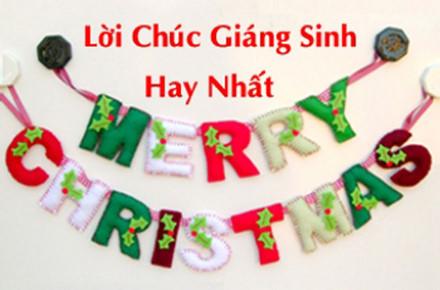 Những lời chúc Giáng sinh ý nghĩa bằng tiếng Anh