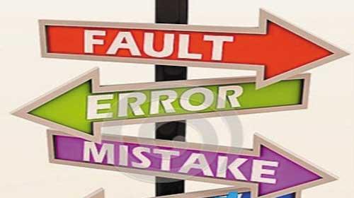 Cách phân biệt Fault, Mistake, Error, Defect