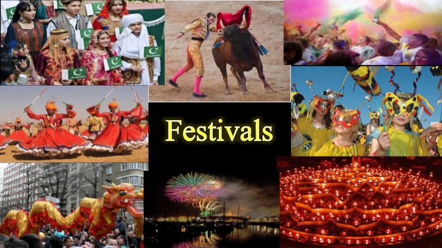 Unit 9: Festivals around the word