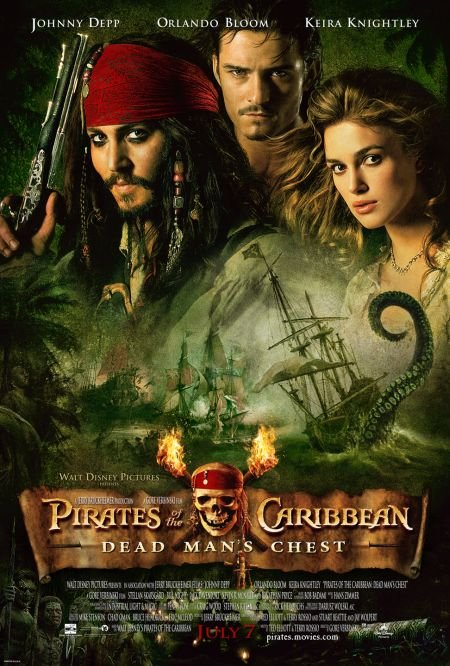The Pirates of Caribbean the Curse of Black Pearl