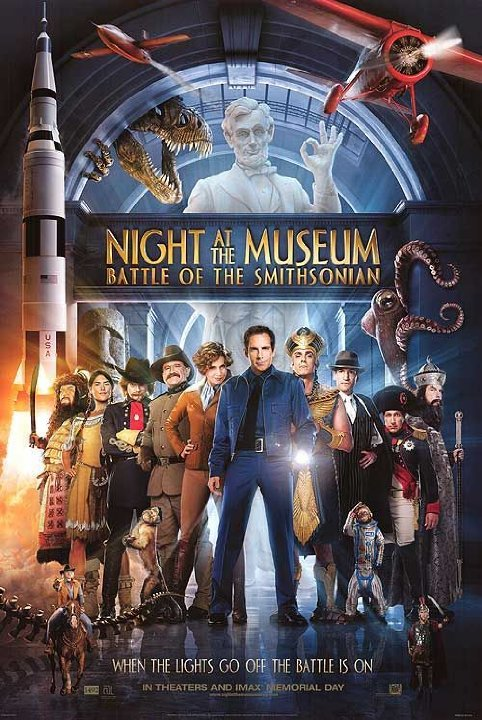 Night at the museum: The Battle Of The Smithsonian